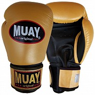 Muay Boxing Gloves - Gold