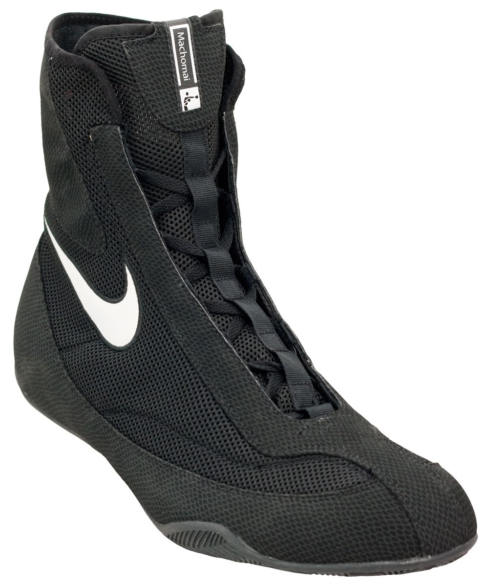 4072cca2073c89 Nike Machomai Mid boxshoe - Black - Boxing Shoes - Online ...