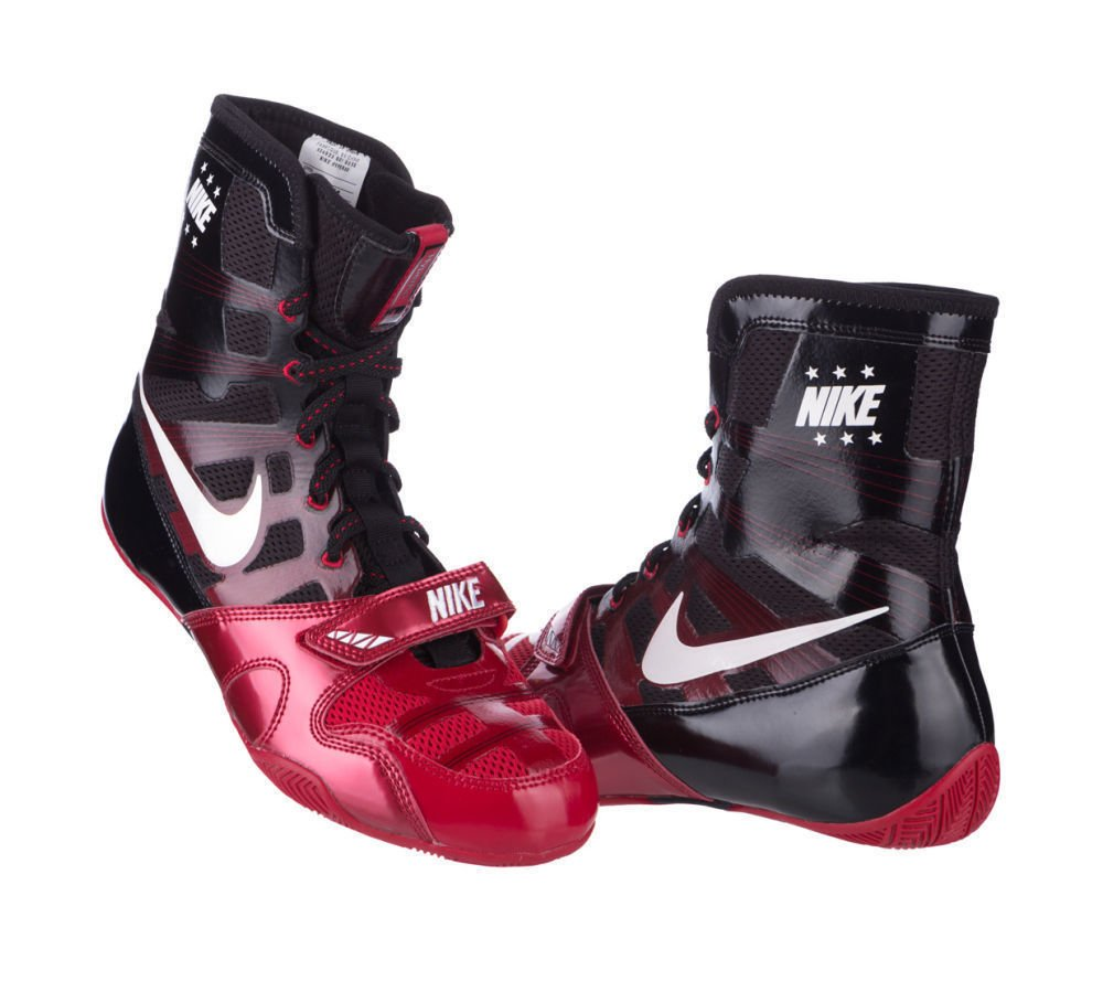 ab469bf41cf3b2 Nike Hyper KO Boxing shoe - Black Red White - Boxing Shoes - Online ...