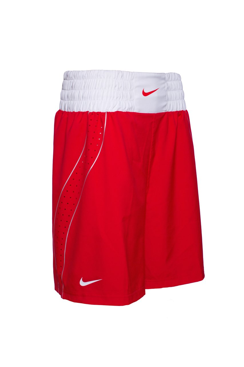 e1fb487f1fb117 Nike Boxing Trousers Red - Kickboxing and boxing clothing - Online  vechtsportwinkel Aiki-Budo Sport