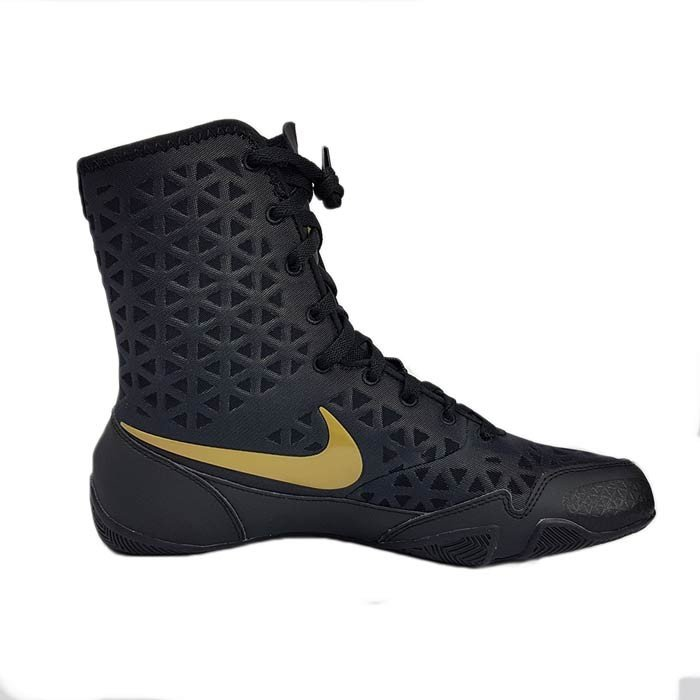 e0e39d68a238 Nike K.O. Boxing Shoe Black Gold - Boxing Shoes